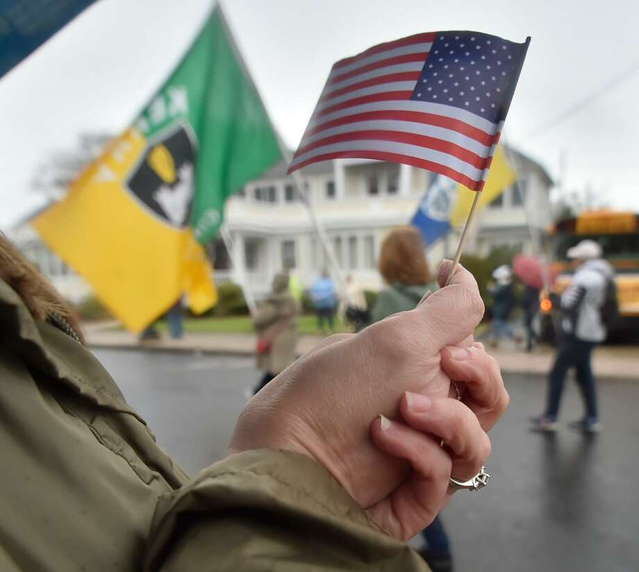 The armed forces aren't seeking our recognition. They're motivated by their fellow warriors and the goal of getting everyone home to their families. Photo: Peter Hvizdak /Hearst Connecticut Media / New Haven Register