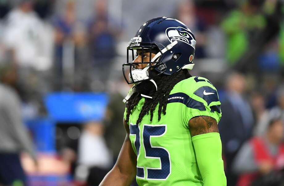 Seattle Seahawks CB, Richard Sherman, ruptured his Achilles Thursday Nov. 9 against the Arizona Cardinals. Browse through the photos to see which other stars have had their season's cut short by injury.   Photo: Norm Hall/Getty Images