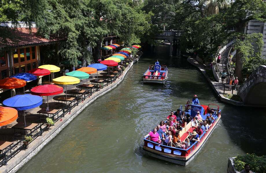 Research shows that every dollar spent advertising Texas as a destination provides a $7.92 return on investment. The River Walk, shown here in July, is one popular tourist destination. Photo: John Davenport /San Antonio Express-News / ©John Davenport/San Antonio Express-News