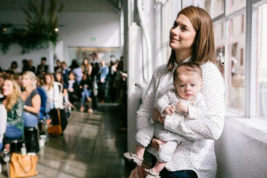 The first In Good Company conference, founded by Katie Hintz-Zambrano, attracted entrepreneurial moms (and a few offspring), to allow attendees to inspire and connect (above). Photo: Kara Brodgesell