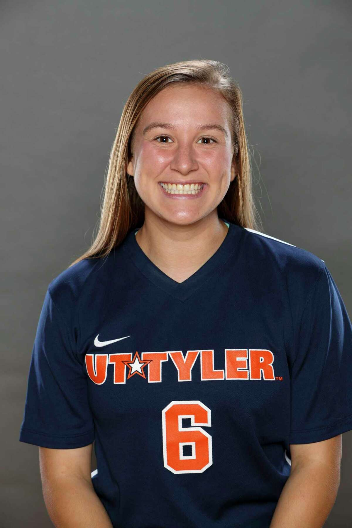 Seven Lakes graduate and University of Texas at Tyler senior Caitlyn Mortus helped lead the Patriots to an 11-5-1 season and the American Southwest Conference semifinals. Mortus finished with 16 career goals.