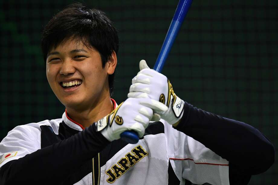 Japanese star Shohei Ohtani, who is expected to hit and pitch in the big leagues, will sign with the Angels, giving the Astros plenty of opportunity to face him in the coming years. Photo: Masterpress/Getty Images