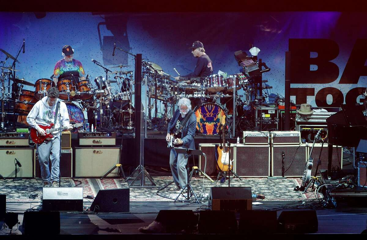 Dead & Company perform during the Band Together Bay Area benefit concert at AT&T Park in San Francisco Calif., Thursday, November 9, 2017. The concert was a benefit for the Tipping Point Emergency Relief Fund for North Bay fire relief.
