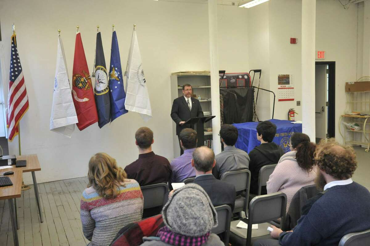 Student veterans at Northwestern Connecticut Community College in Winsted were recognized Friday in honor of Veterans Day.
