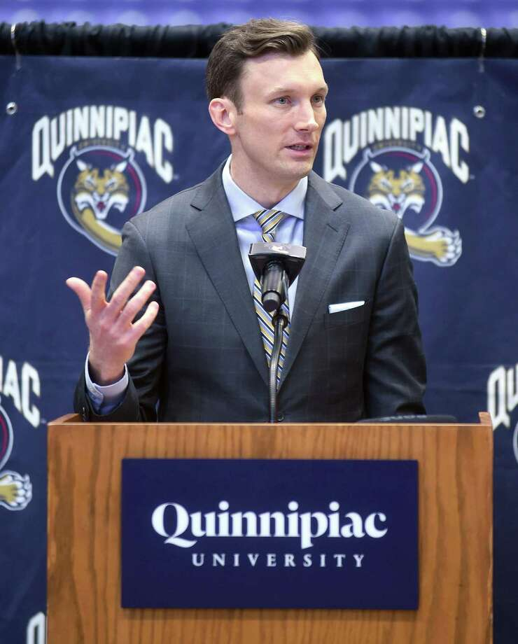 Baker Dunleavy and the Quinnipiac men's basketball team kick off the season today against Dartmouth. Photo: Hearst Connecticut Media File Photo