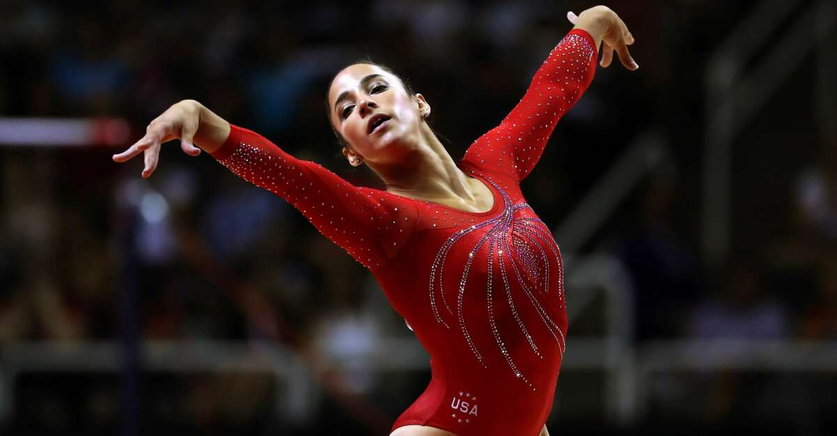 FILE: Aly Raisman competes at the U.S. Olympic Trials in San Jose, Calif., July 10, 2016. Raisman, a three-time gold medalist, said on Nov. 10, 2017 that she had been sexually abused by Lawrence Nassar, the team doctor now facing criminal charges for molesting other gymnasts. (Chang W. Lee/The New York Times)