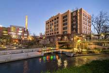 Hotel Emma opened in the fall of 2015 at the Pearl, the culinary/cultural/retail collection at the former Pearl Brewery. The 146-room hotel includes a bar, restaurant and library.