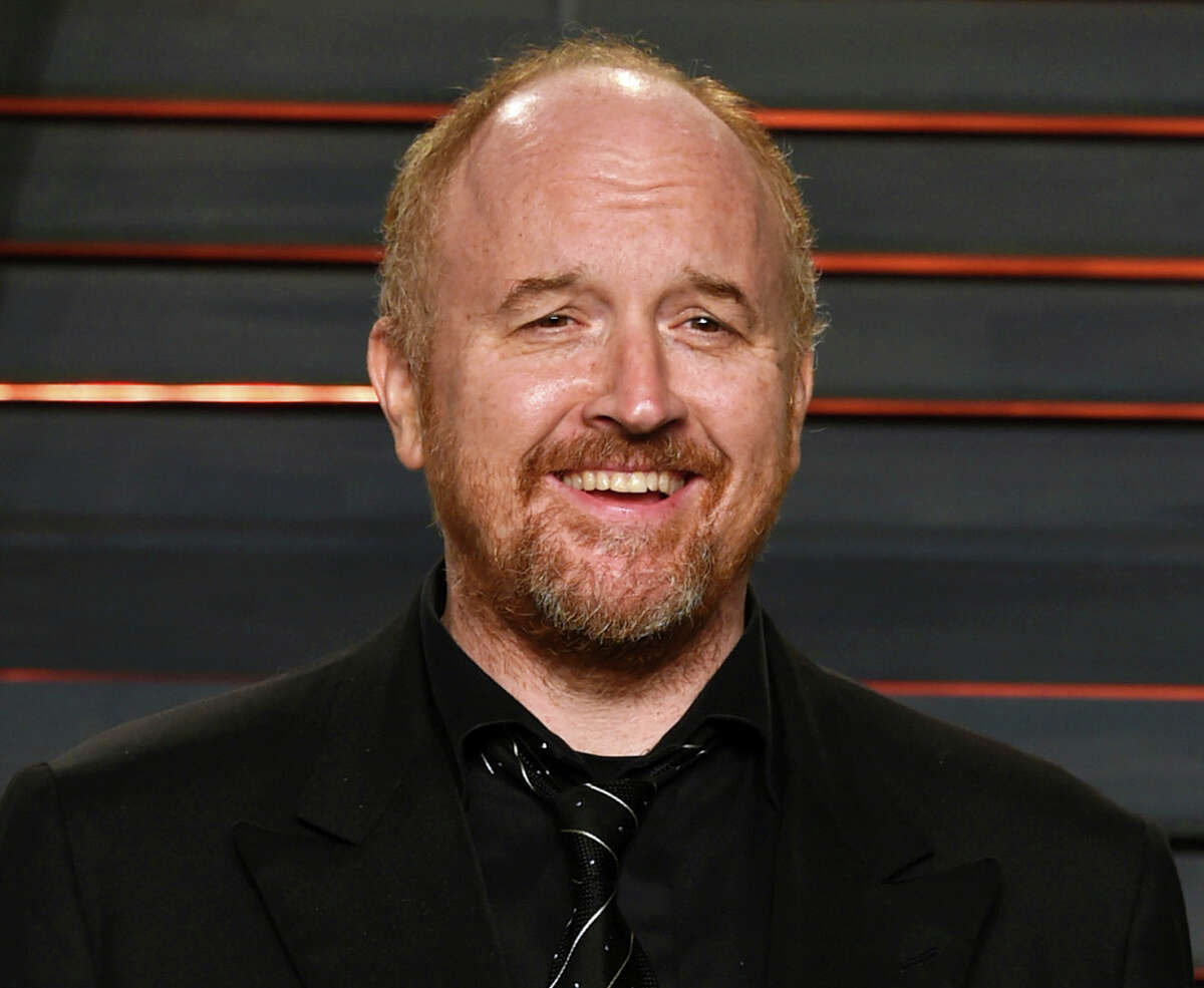 FILE - In this Feb. 28, 2016 file photo, Louis C.K. arrives at the Vanity Fair Oscar Party in Beverly Hills, Calif. The New York premiere of Louis C.K.Â?'s controversial new film Â?
