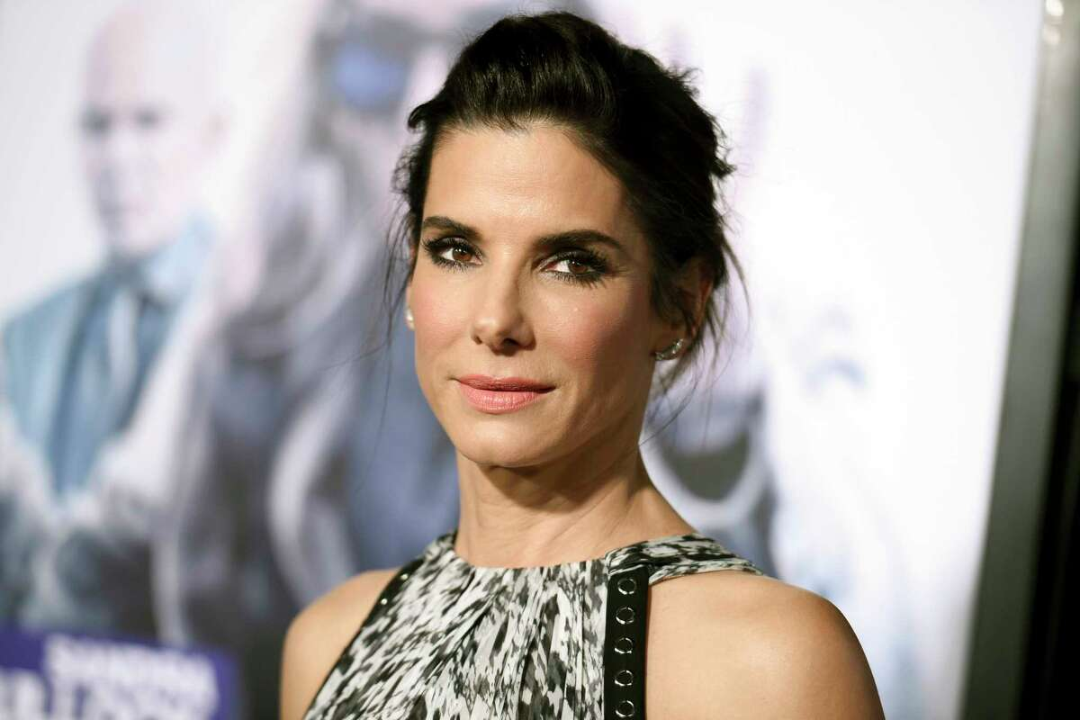 FILE - This Oct. 26, 2015 file photo shows actress Sandra Bullock arrives at the premiere of
