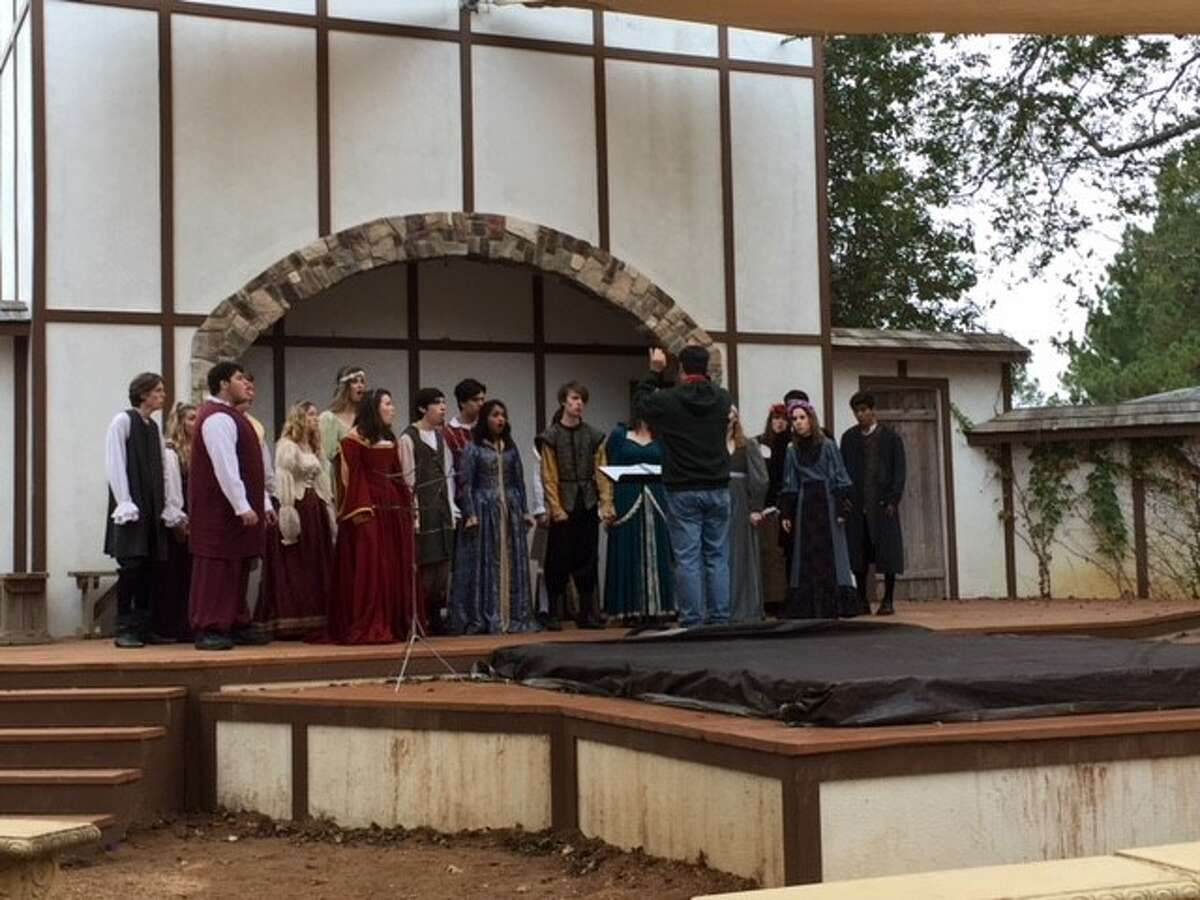 Musical students across Conroe ISD campuses participated in the Texas Renaissance Early Music Festival during the Texas Renaissance Festival's annual School Days. The musical competitions included choir, band and orchestra.