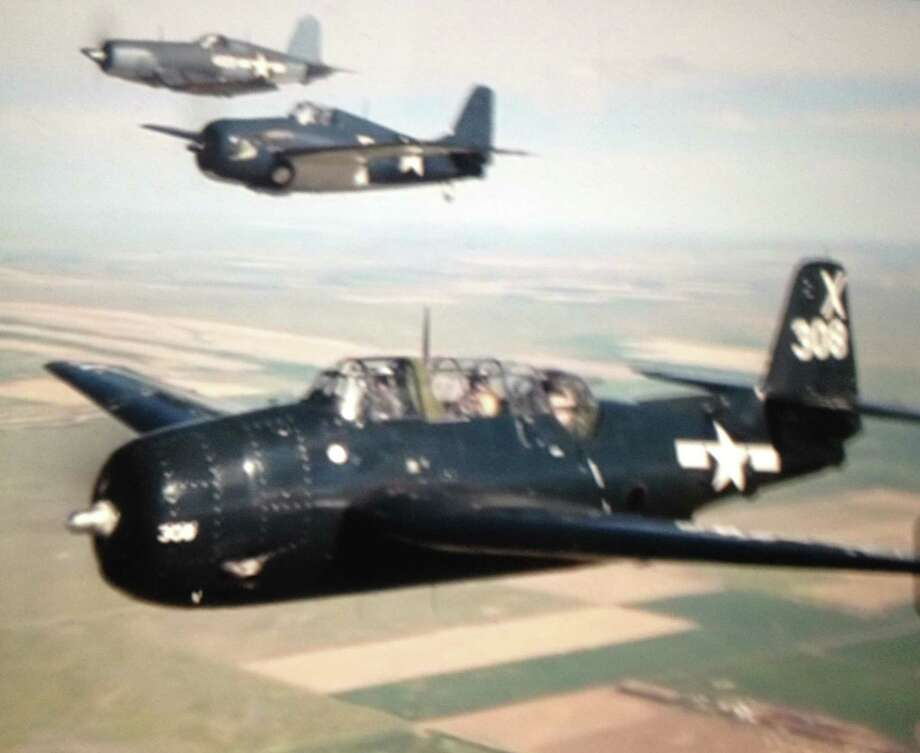 Bob Holley was in his early 20s when he flew a Grumman TBF Avenger off carriers in the Pacific during World War II. / handout