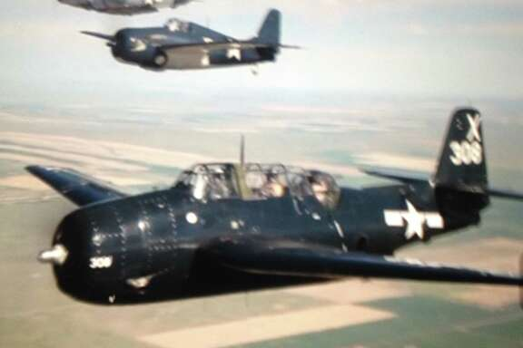 Bob Holley was in his early 20s when he flew a Grumman TBF Avenger off carriers in the Pacific during World War II.