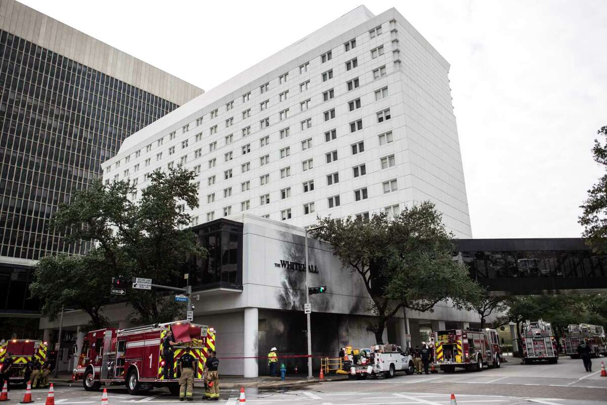 Friday's explosion at The Whitehall Hotel