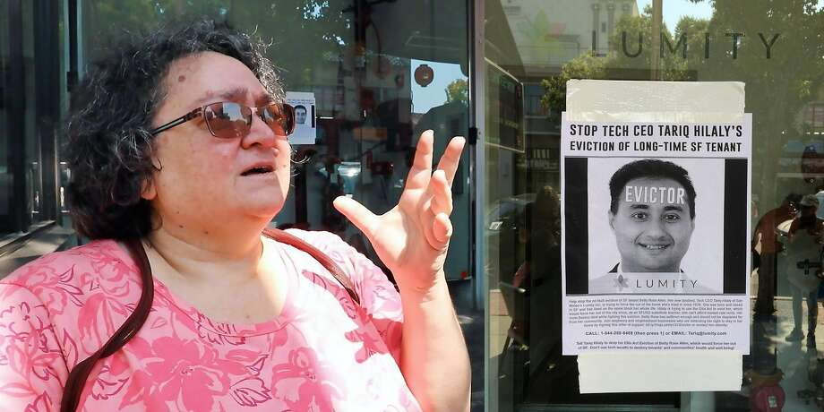 San Franciscan Betty Rose Allen won her court case to overturn an Ellis Act eviction. Photo: Peter Menchini