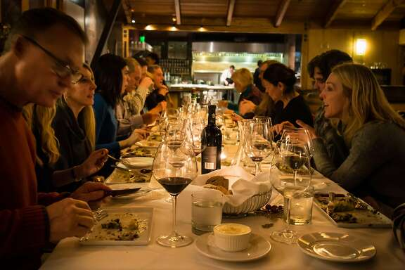 At the Cedar House Sport Hotel in Truckee their in-house restaurant, Stella, opens for pop-up dinners several times a month, with tasting menus and award-winning chefs who invite you into the kitchen.