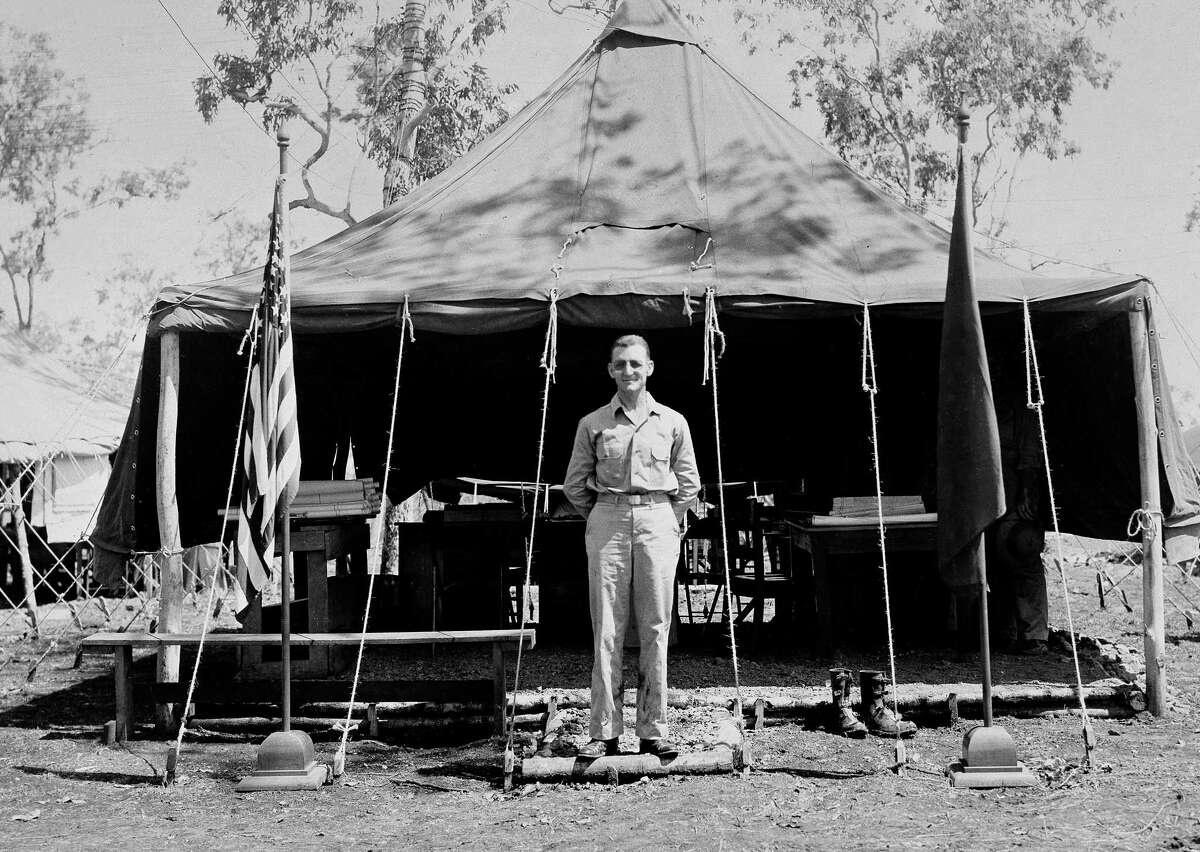 An undated photo of Brig. Gen. Kenneth N. Walker, the highest-ranking recipient of the Medal of Honor still listed as missing from World War II. His son wants to find Walker's crash site.