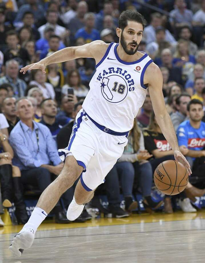 Omri Casspi has logged just 85 minutes of playing time with the Warriors, but has made them count. Photo: Thearon W. Henderson / Thearon W. Henderson / Getty Images / 2017 Thearon W. Henderson