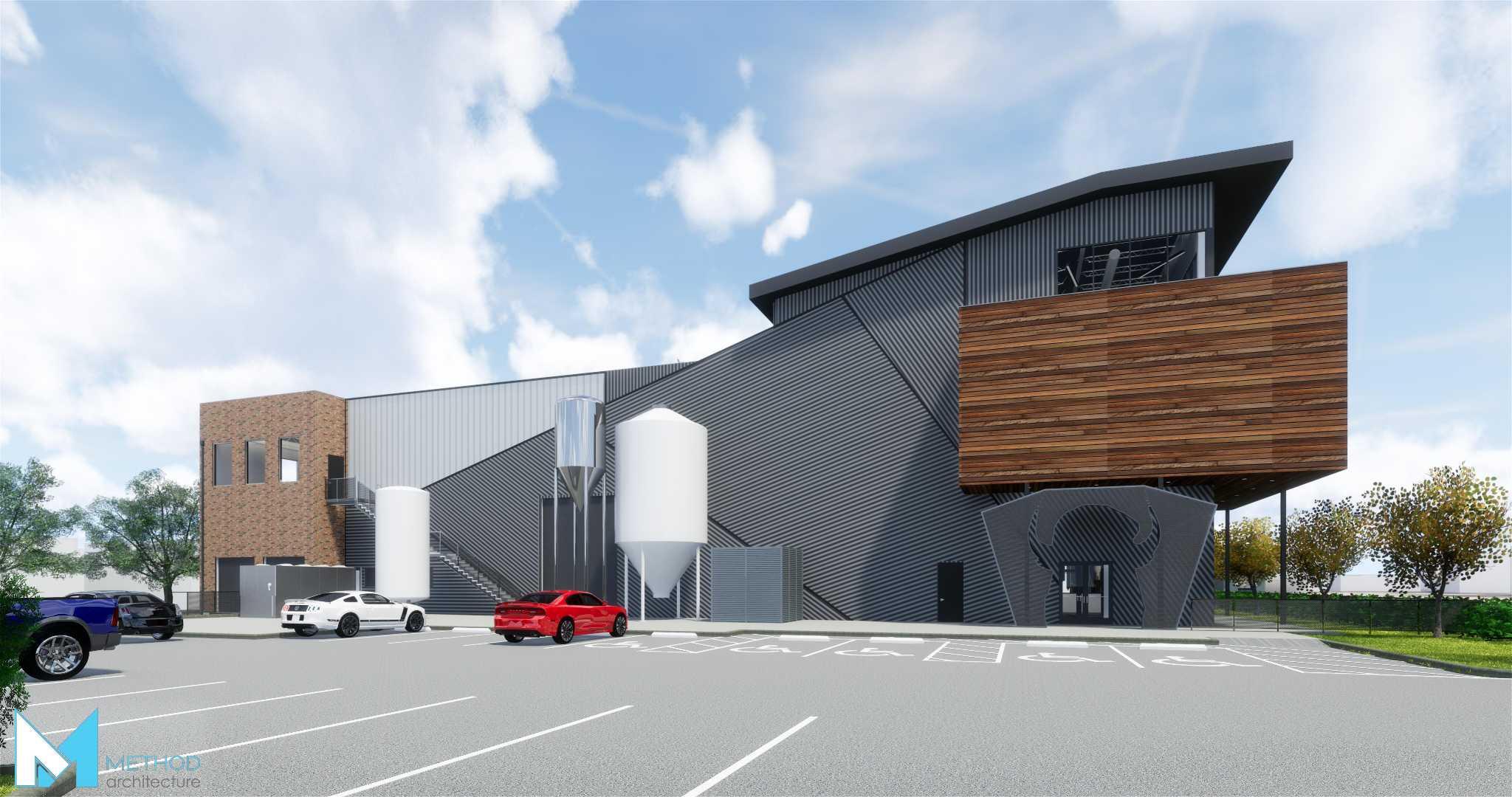 New Buffalo Bayou brewery restaurant ing near downtown