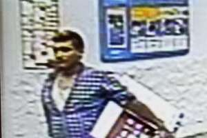Laredo police are asking for the community's help in identifying this man suspected of stealing a television from a local Wal-Mart.