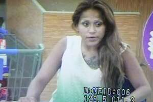 Laredo police are asking for the community's help in identifying this woman in connection with theft at a local Wal-Mart.
