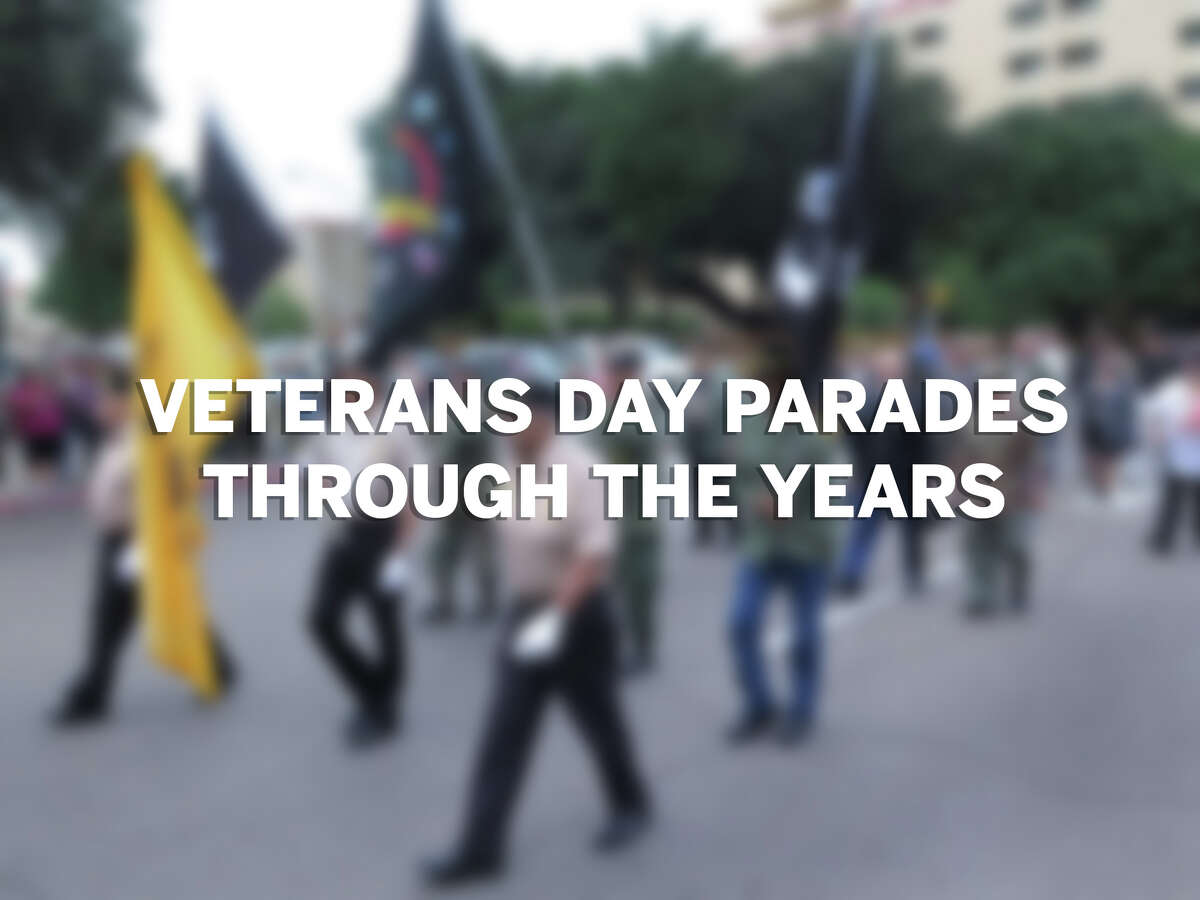 Click through the gallery to see Veterans Day parades in Laredo from 2104-16