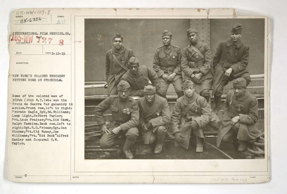 The Harlem Hellfighters were captured in a famous photo  Now