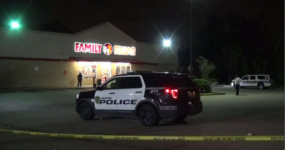 An employee was shot Friday night at a north Houston Family Dollar store, according to the Houston Police Department. The person was shot shortly after 10 p.m. at the store in the 7600 block of Jensen Drive, said Officer Todd Tyler with HPD Homicide Division. Photo: Metro Video