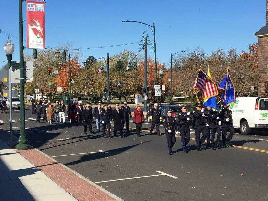 East Haven holds Veterans Day parade Saturday. Photo: Contributed Photo