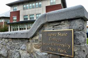Empire State College headquarters on Union Street Thursday Oct. 22, 2015 in Saratoga Springs, NY.  (John Carl D'Annibale / Times Union)