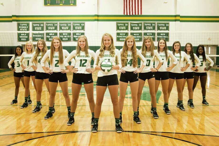 The Woodlands Christian Academy volleyball team are state runner-up in TAPPS 4A. Photo: Photo Provided