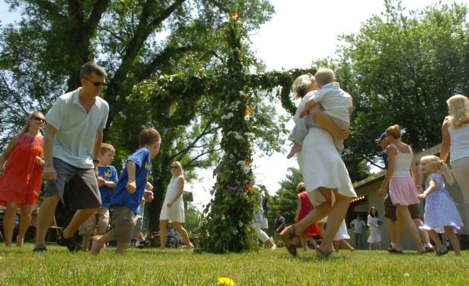 The Scandinavian Club has planned its annual Swedish Mid-Summer Fest on Saturday, beginning at 11 a.m. at its 1351 South Pine Creek Road grounds. Find out more.  Photo: Christian Abraham / Connecticut Post