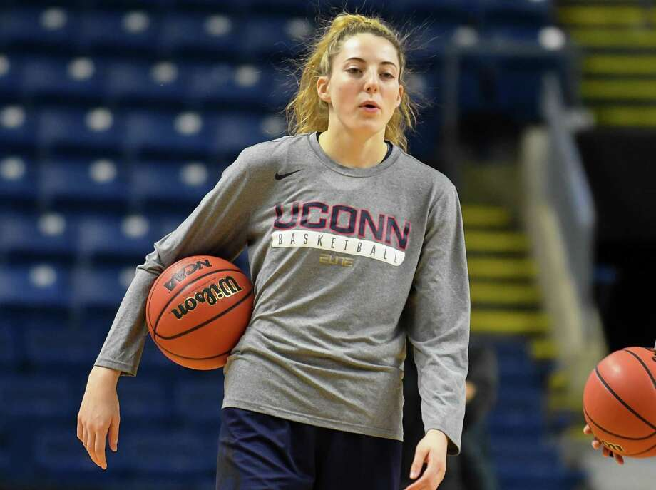Katie Lou Samuelson and UConn open their season on Sunday against Stamford. Photo: Gregory Vasil / For Hearst Connecticut Media / Connecticut Post Freelance