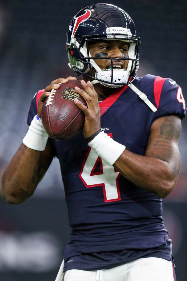 A healthy Deshaun WatsonWhat's this? We might have a healthy franchise QB for a whole season in Houston?  Photo: Michael Ciaglo, Houston Chronicle / Michael Ciaglo