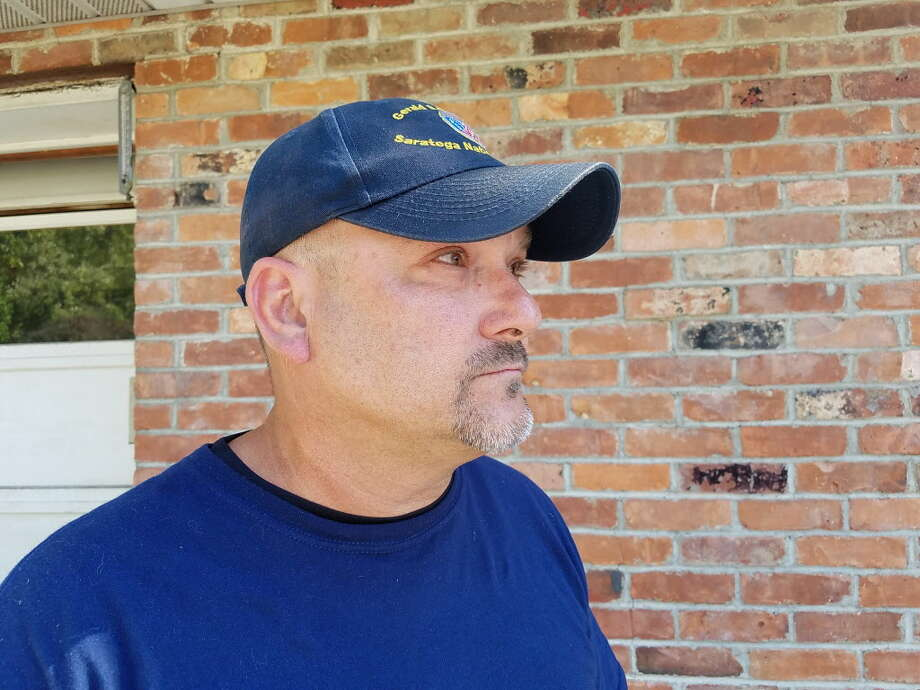 Navy veteran Scott Gilligan, 48, of Cohoes, is facing prison time over a burglary he committed early in 2016. Gilligan has since overcome drug addiction and says he has cleaned up his life. (Chris Churchill / Times Union)