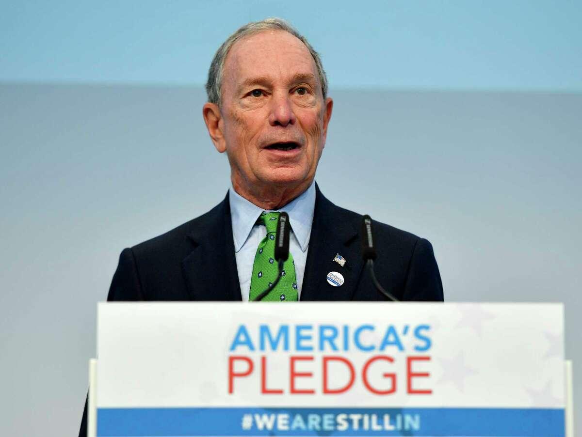 Rice University Commencement speaker: Former New York mayor and billionaire Michael Bloomberg. Date:May 11-12, 2018