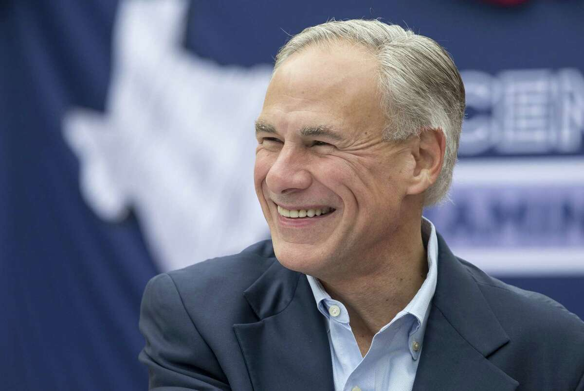 """Gov. Greg Abbott, seen on Nov. 11, 2017, said the extension of the 1115 waiver """"ensures that funding will remain available for hospitals to treat and serve people across our state who are in need of top quality health care."""""""