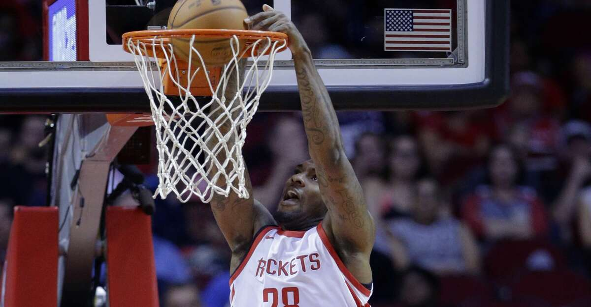 Rockets center Tarik Black was honored Thursday night at his high school in Memphis. The Rockets play the Grizzlies there on Saturday night.