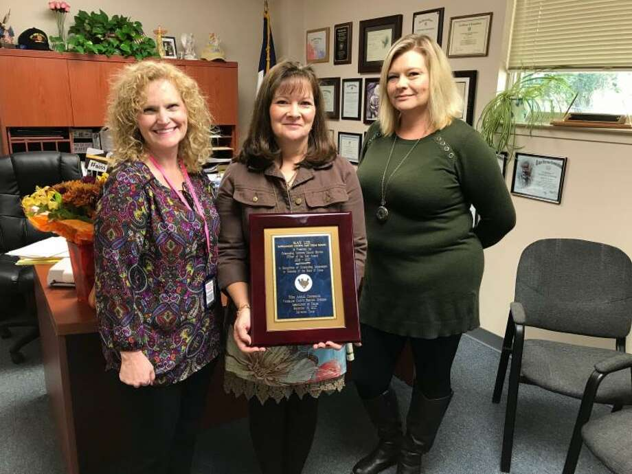 Veterans Service Office Director Kay Lee was recently honored with a prestigious state award for her work. Photo: Courtesy Photo