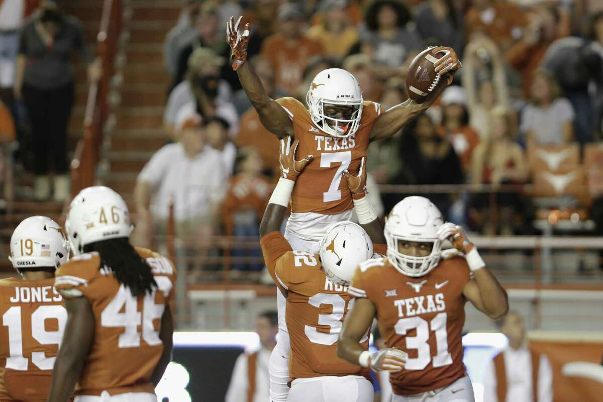 3. Texas (100) The Longhorns are the state's lone representative in the national-title hunt over the past few decades, and are such a national brand they even have their own ESPN network. Now, if they can just get the actual football back on track ...