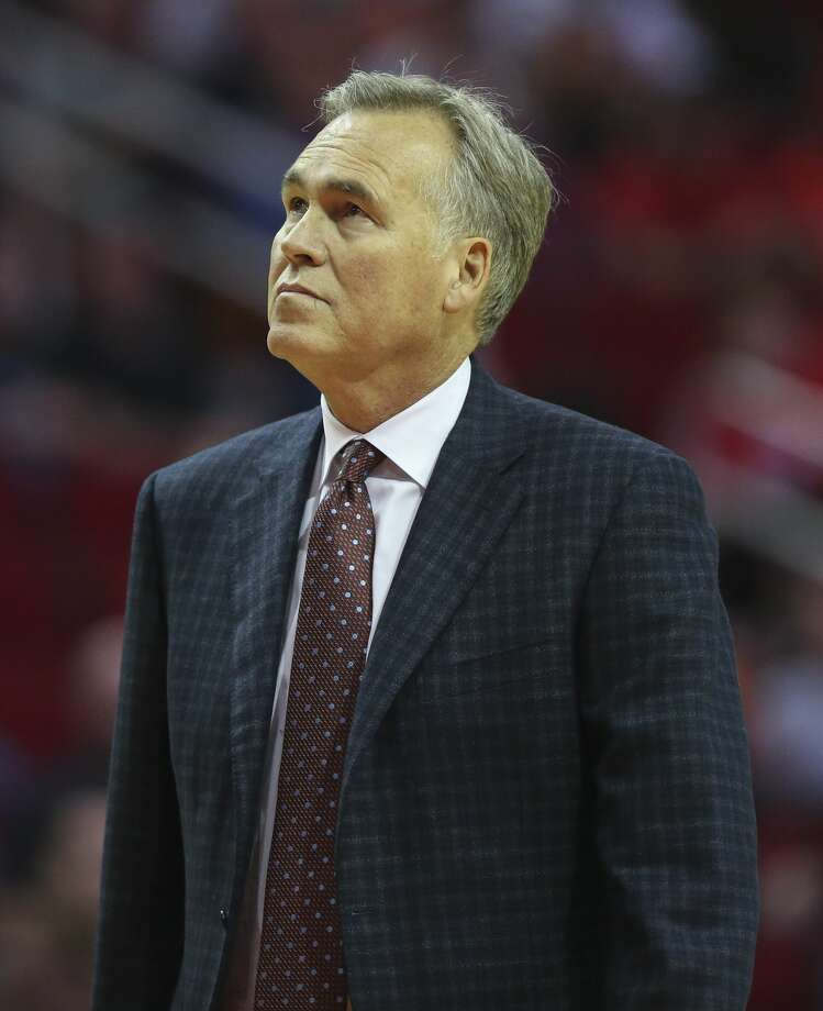 Rockets coach Mike D'Antoni and his wife, Laurel, donated $25,000 to the SagerStrong Foundation. Photo: Yi-Chin Lee/Houston Chronicle