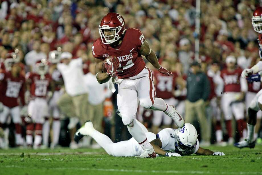e60edffa Oklahoma RB Rodney Anderson (Katy) drafted by Bengals with No. 211 ...