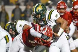 Emil Oliva has rushed for 947 yards and 16 touchdowns in his senior season. Oliva and Nixon face Brownsville Veterans Memorial at 6 p.m. Saturday in Alice.