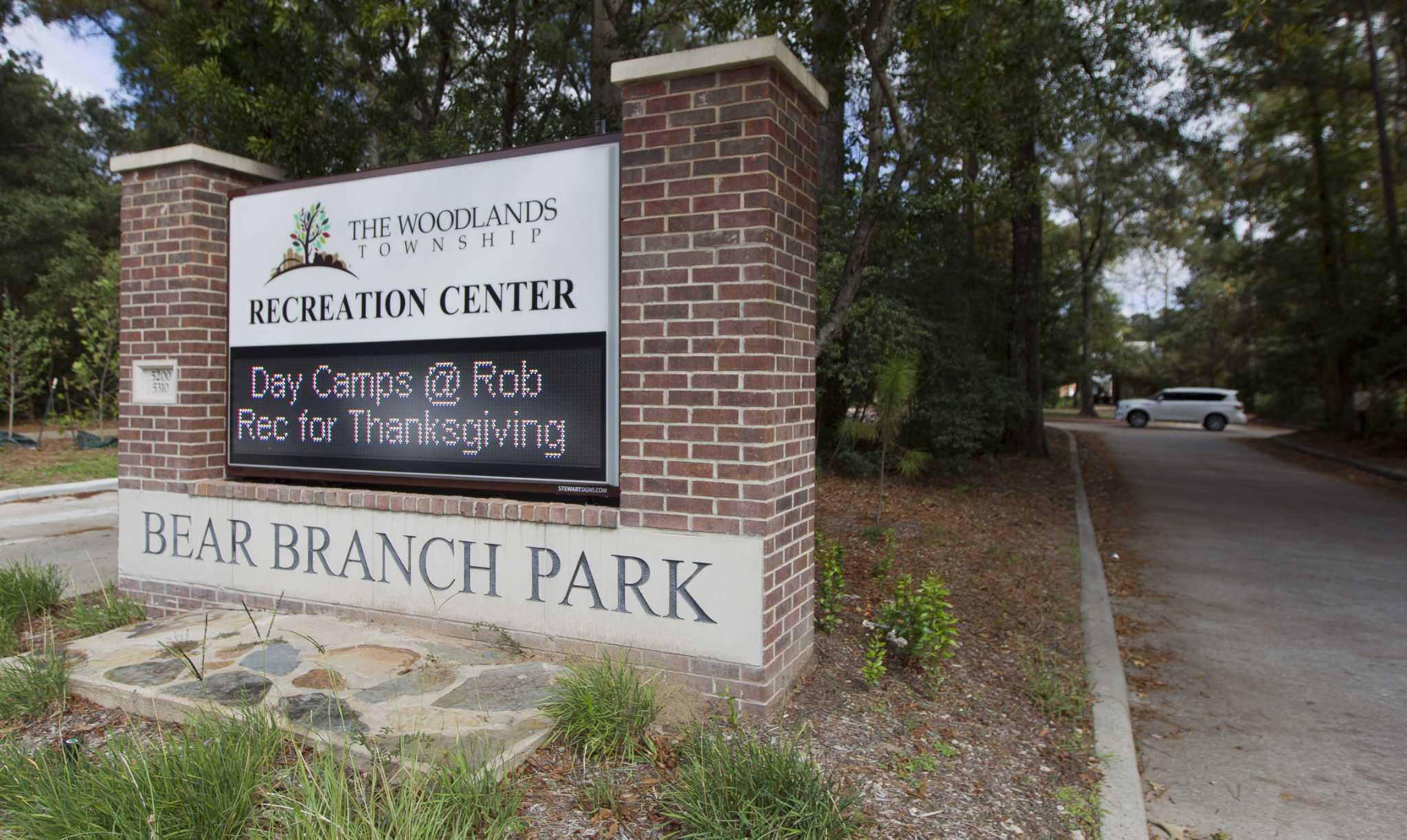 woodlands officials evaluating bids for bear branch park upgrade