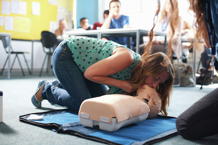 A study released on Sunday, Nov. 12, 2017 shows women are less likely than men to get CPR from a bystander and more likely to die, and researchers think that reluctance to touch a woman's chest may be one reason. Photo: Peter Muller/Getty Images/Cultura RF