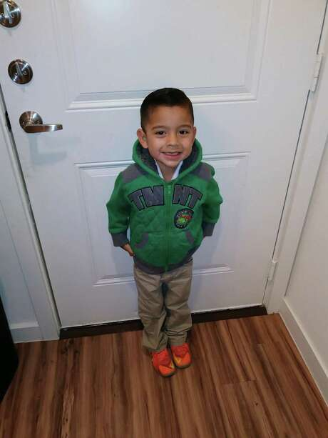 Three-year-old Rene Blancas Jr. died from a single gunshot wound. Witnesses reported the suspect fled in a 2006 Beige or Gold Honda Civic with a tint eyebrow on the front windshield. Photo: Courtesy / Courtesy