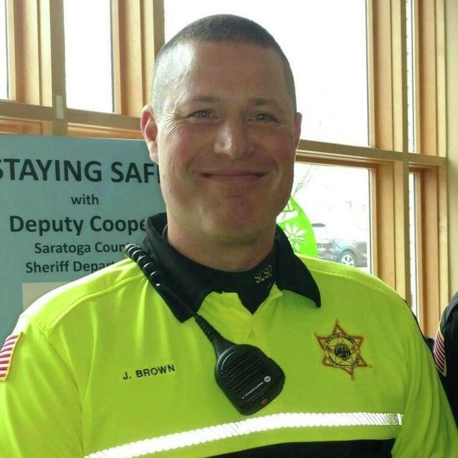 Saratoga County Sheriff's deputy John Brown died Sunday while on a training run.