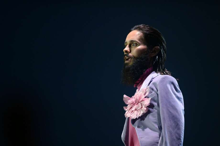 LONDON, ENGLAND - NOVEMBER 12:  Jared Leto on stage during the MTV EMAs 2017 held at The SSE Arena, Wembley on November 12, 2017 in London, England.  (Photo by Dave J Hogan/Getty Images for MTV) Photo: Dave J Hogan/Getty Images For MTV