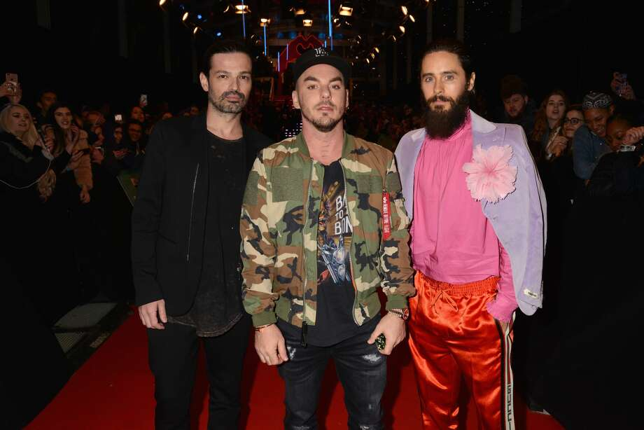 Concerts coming to the SF Bay Area July 18: Thirty Seconds to Mars at Shoreline Amphitheater in Mountain View Photo: Dave Hogan/MTV EMAs 2017/Dave Hogan/Getty Images For MTV