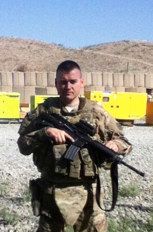New York Army National Guard Maj. Todd Balog is on duty in the Afghanistan war. (U.S. Army)