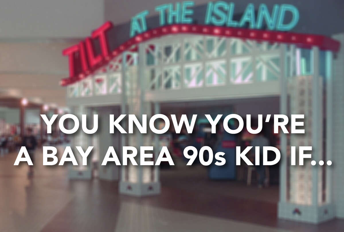 So you grew up in the Bay Area in the 1990s? How many of these do you remember? Click through our gallery to see some of the best.